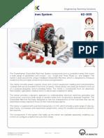 62-005 Datasheet Dissectible Machine 08 2013