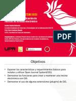 Open Journal System OJS Centeno Suarez