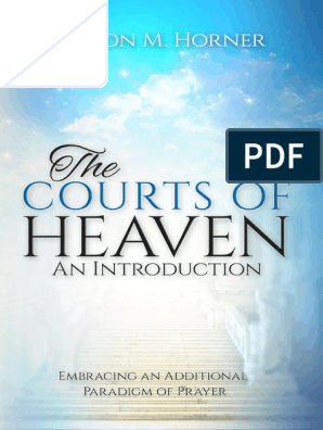 The Courts of Heaven an Introduction With Covers | Prayer