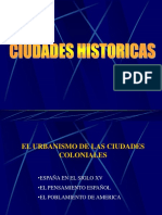 ciudades historicas
