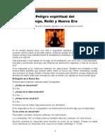El Yoga, el Reiki y la Nueva Era