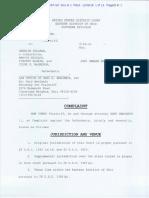 Joy Karega v. Oberlin College - Complaint