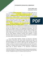 REQUISITOS DE LA DEMOCRACIA-DAHL