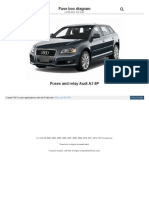 Fusesdiagram Com Audi Fuses and Relay Audi a3 8p HTML