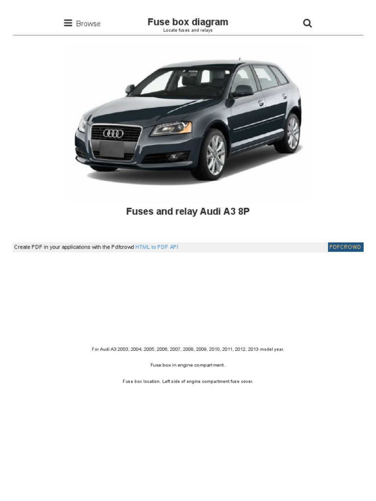 fusesdiagram com audi fuses and relay audi a3 8p html | anti lock braking  system | transmission (mechanics)