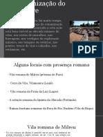Romanizaçao Algarve