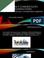 Estrutura e Comunicação Organizacional