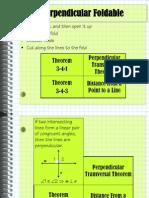 3-4 Perpendicular Lines