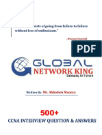 500+ Most Important CCNA Networking Question With Answers