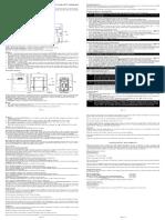 Maverick ET 73 Manual