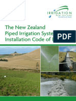 NZ piped irrigation