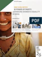 MGI India Parity_Full Report_November 2015