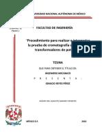 tesis procedimiento para interpretar la cromatografia a transformadores de potencia.pdf