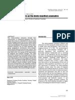 [ARS Medica Tomitana] Clinical Assessments on the Dento-maxillary Anomalies