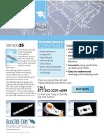V26 CAD Manual Flyer