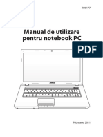 Manual Utilizare NOTEBOOK - a S U S