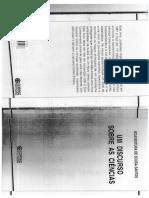 Um Discurso Sobre as Ciências - Boaventura de Sousa Santos