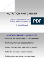 20. Nutrition and Cancer