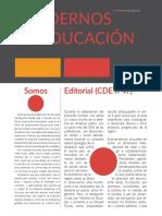 Cuadernos de Educación DIC-ENE (Año XIII) nº47