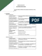 Modelo Educativo - Propuesta