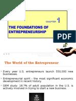 Chapter 1_The Foundations of Entrepreneurship
