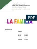 Trabajo de Familia