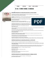 Actas del III Congreso Nacional de Arqueologia | V Congreso Nacional de Arqueología