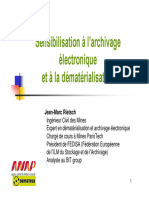 Comprendre l Articulation Entre La Dematerialisation Et l Archivage Electronique