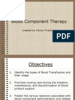 Blood Component Therapy F17