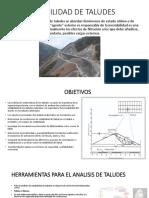 geotecnia taludes
