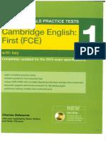 FCE Essential 1