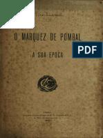 Lúcio de Azevedo - O Marquês de Pombal e a Sua Época (1909)