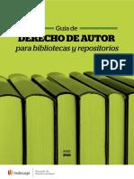 Guía de derecho de autor para bibliotecas y repositorios