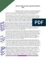 Diferencia Entre Open Source y Software Libre