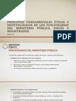 Principios Éticos Fundamentales y Deontológicos de Los Funcionarios - Copy