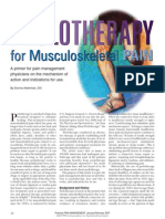 PROLOTHERAPY for Musculoskeletal PAIN
