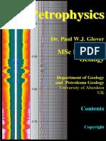 Paul Glover Petrophysics