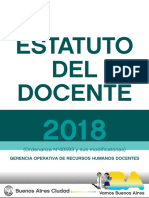 Estatuto Mayo 2018