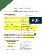 Logaritmos LISTA 01.pdf