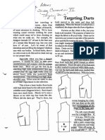 Manipulating Darts Shirley Adams Sewing Connection