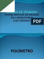 UT _Instrumentos de Medida de Taller_Polímetro