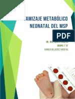 tamizaje metabolico neonatal ecuador