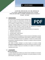 2. ESTUDIO HIDROLOGICO