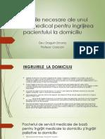 Abilitatile Necesare Ale Unui Asistent Medical Pentru Ingrijirea Pacientului La Domiciliu