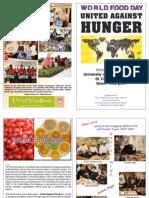 UVI World Food Day Program 2010