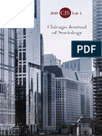 Chicago Journal of Sociology 2018