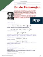 La Función de Ramanujan