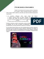 Concepto de Danza Folclorica