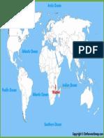 Malawi Location Map