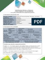 Guía Para El Desarrollo Del Componente Práctico - Salida de Campo